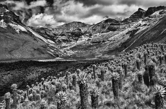 Vulkankrater Kolumbien 2013<br>