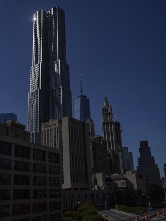 Beekman Tower New York 2014<br>