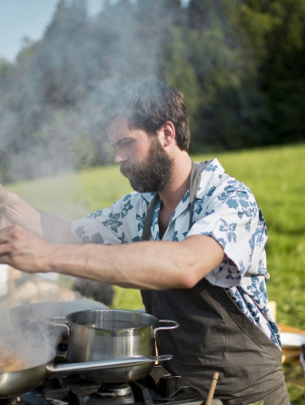 Feldküche | Jakobs Wiese | Alberschwende | 2013<br>