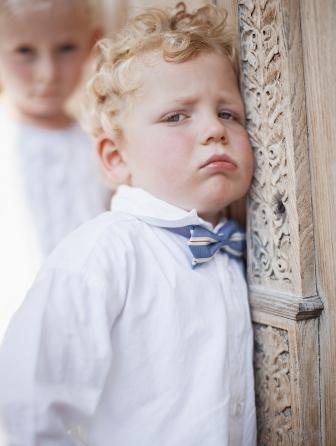 Kleiner Junge auf Hochzeit Schwarzenberg 2009<br>